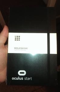 Oculus Moleskin notebook